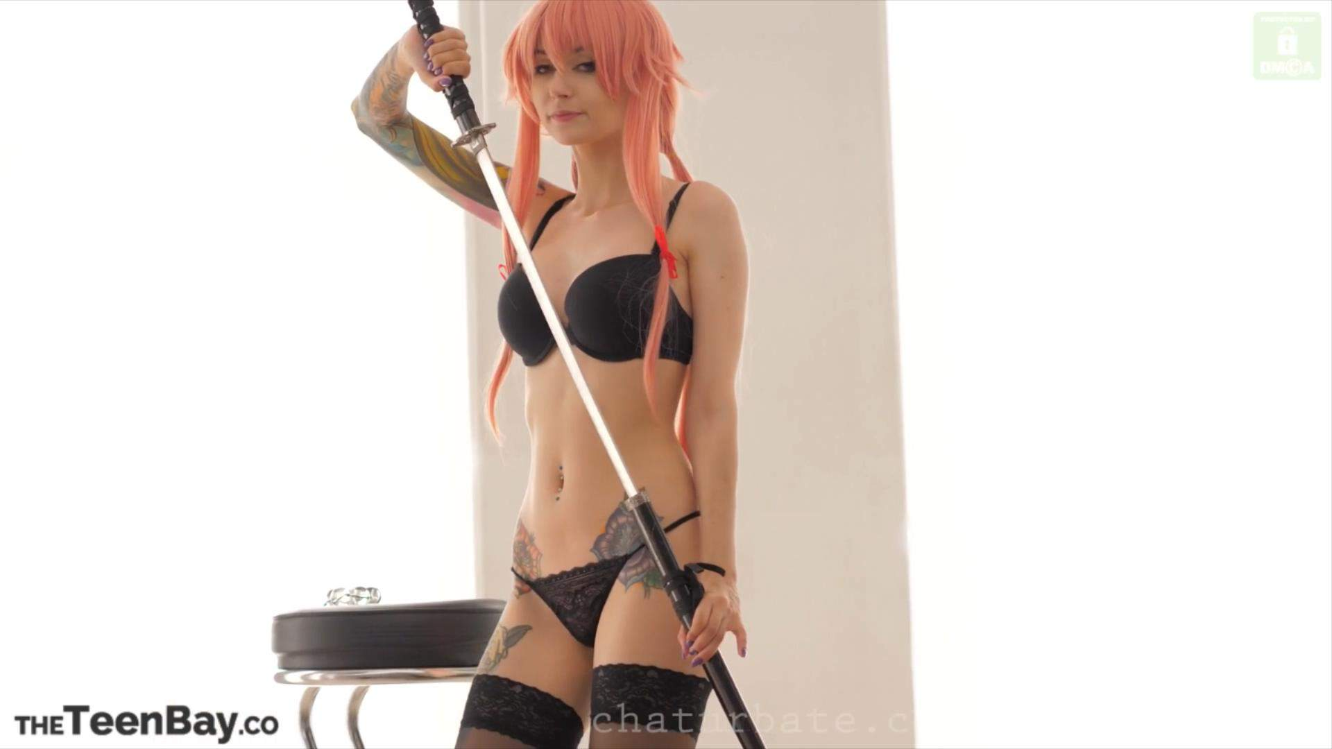 purple_bitch – Yuno Likes Anal Part2 [1V+3P/951M] COS视频-第1张
