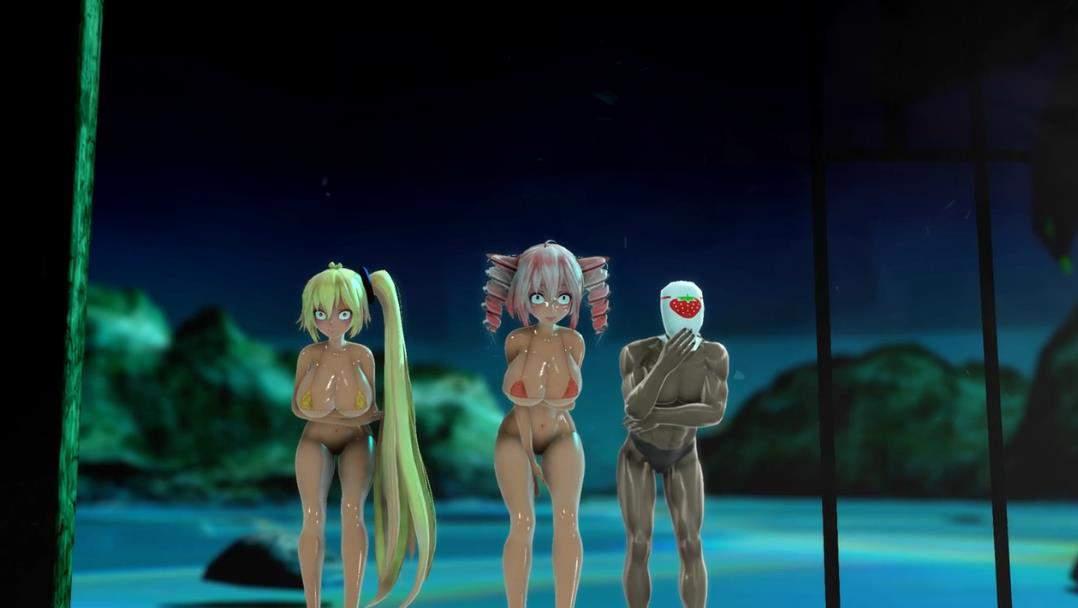 Miku, Teto and Neru ゴーストルール Ghost Rule Sex 3D动漫-第1张