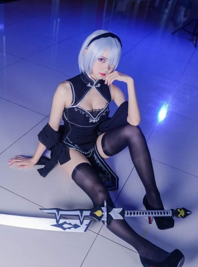 【Cosplay】尼尔机械纪元旗袍同人 COS-第7张