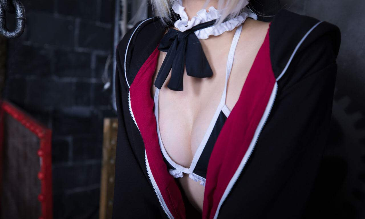 【Cosplay】【神楽坂真冬】絶対服従 Fate Grand Order COS-第7张