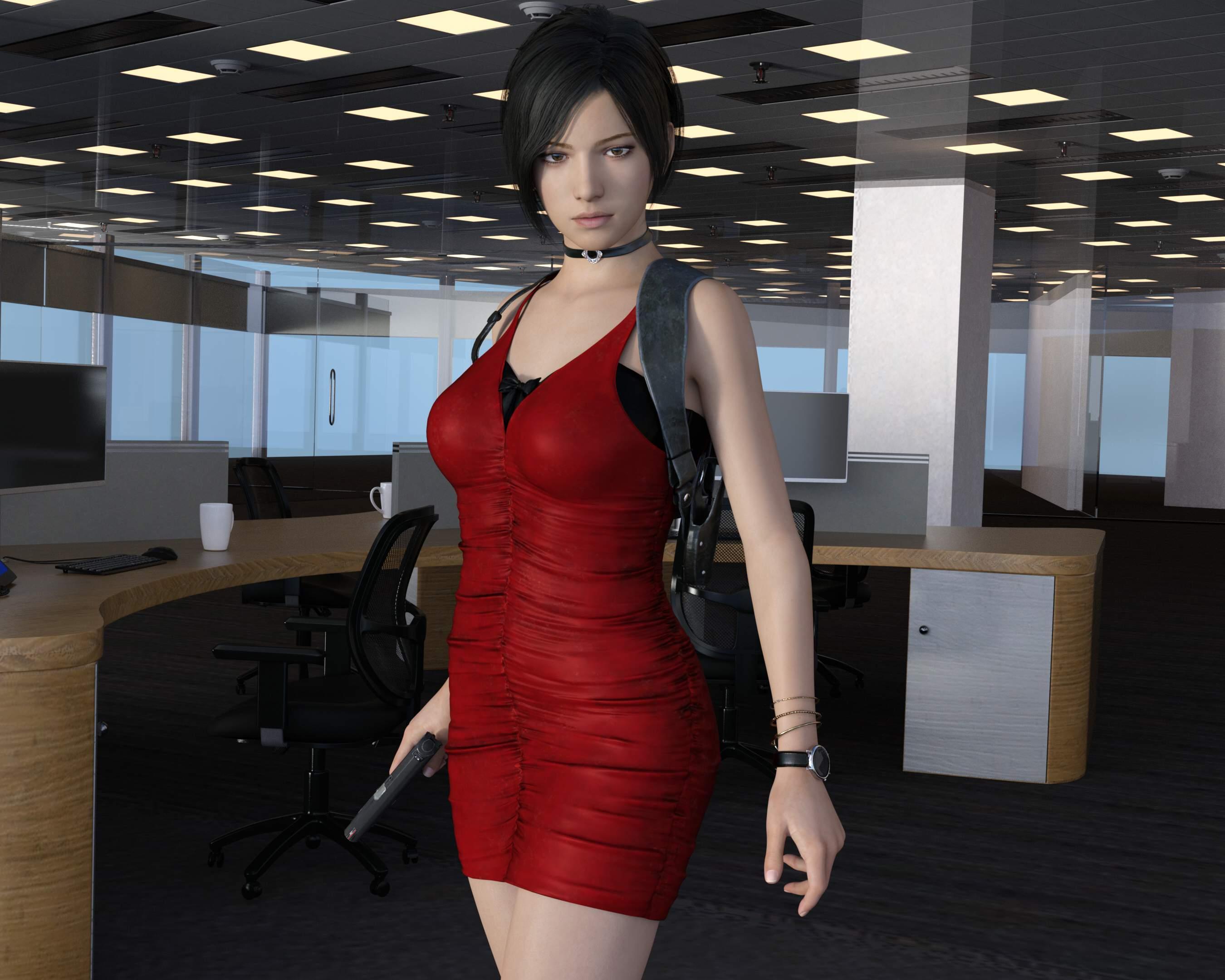 4K画质3D同人:高傲艾达王的RBQ颜! 3D动漫-第1张