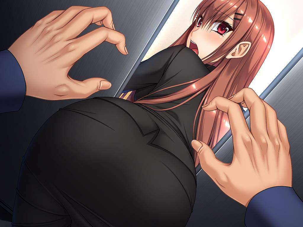 穿着黑丝连裤袜的巨汝OL姐姐居然被卡在电梯里面了! 电脑端-第1张