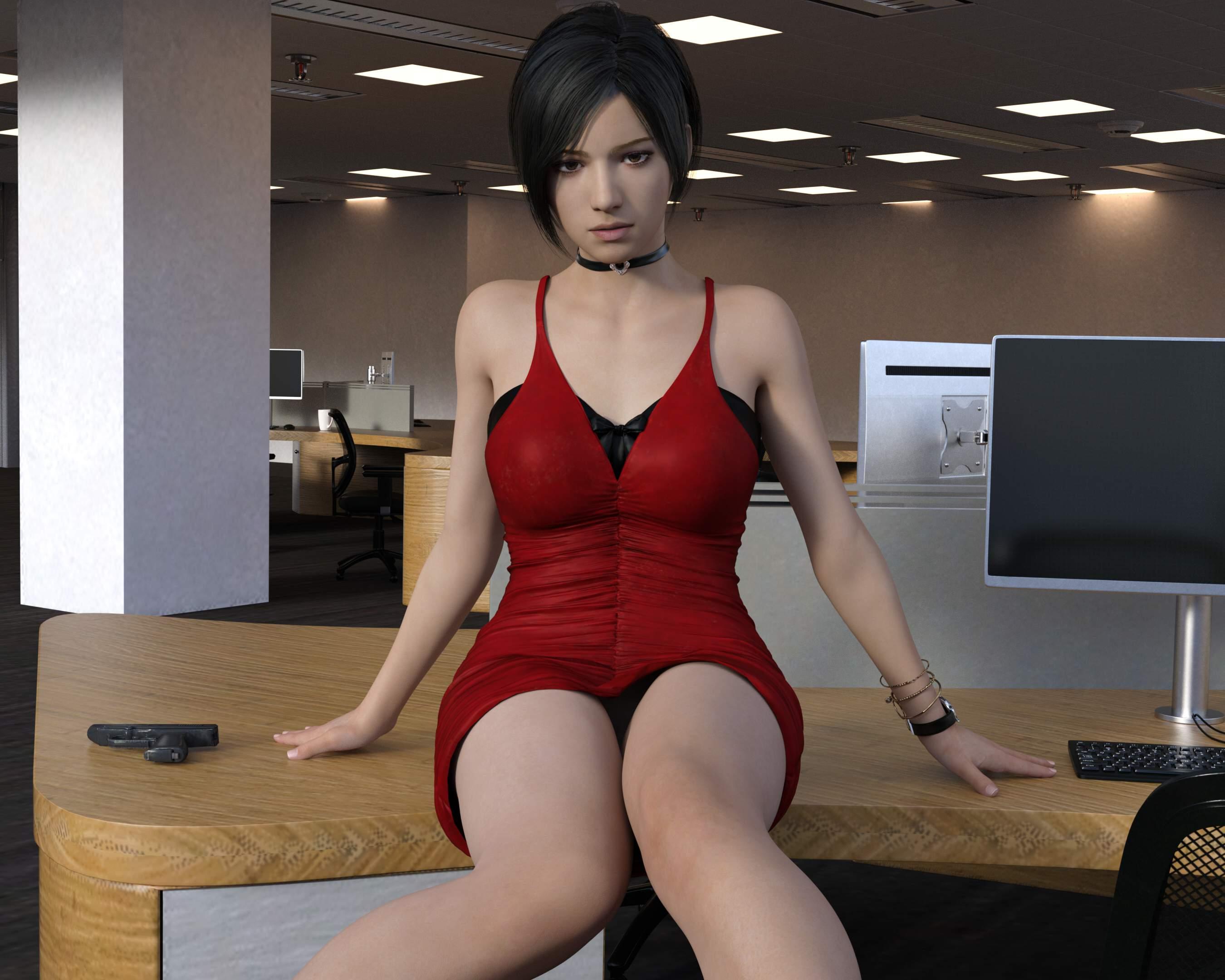 4K画质3D同人:高傲艾达王的RBQ颜! 3D动漫-第2张