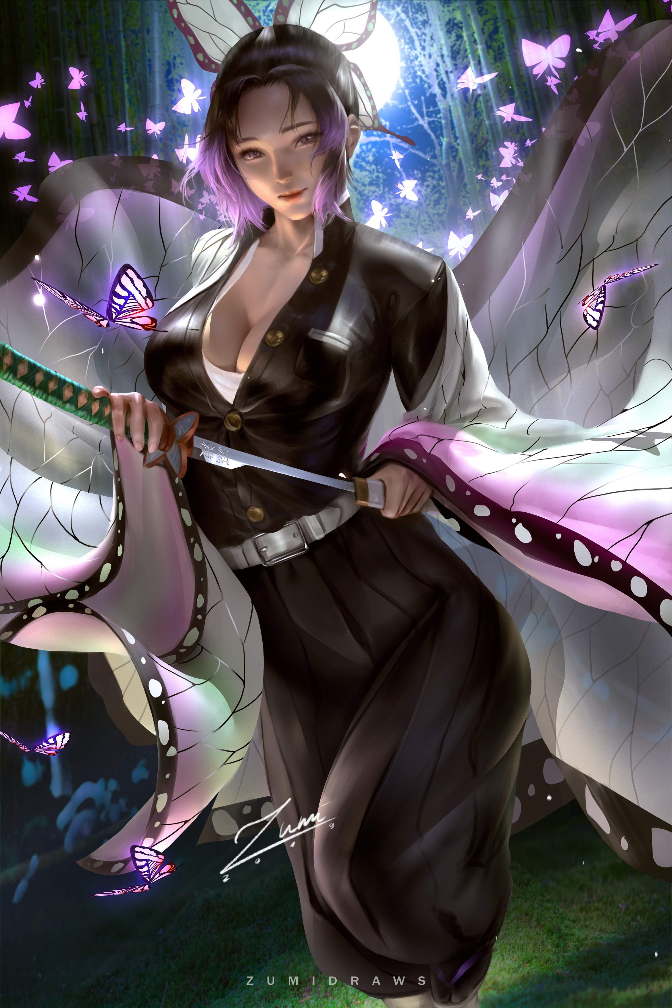 Formidable  Shinobu  画师【143p】 CG/画集-第2张