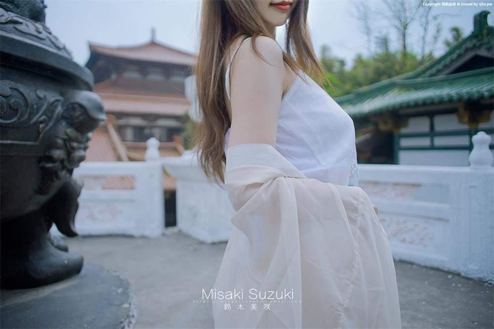 铃木美咲  伊人之美如梦似幻 中华风!古典庭院中的优雅